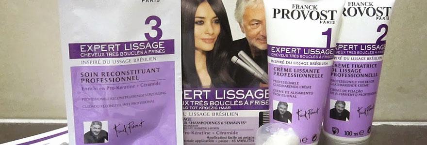 Kit lissage cheveux